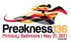 Horse Racing Photos - 2011 Preakness Stakes - 11 Preak Logo