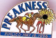 Horse Racing Photos - 1996 Preakness Stakes - Preakness Logo
