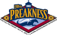Horse Racing Photos - 2005 Preakness Stakes - Preakness 2005 logo