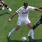 Soccer Photos - Alvaro Arbeloa - Arbeloa playing for Real Madrid.