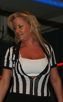 Sports Photos - Tammy Sytch - Sytch as a referee in April 2009