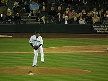 Baseball Photos - Felix Hernandez - Hernández pitching at Safeco Field