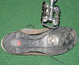 Sports Photos - Mike King (Bmx_Rider) - Road Cycling version of clipless pedals: SPD <i>Dual Choice</i> with shoe started by Mike King, along with fellow racer Brian Lopes in mid 1990s.