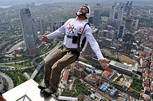 Sports Photos - Base Jumping - BASE Jumping from Sapphire Tower