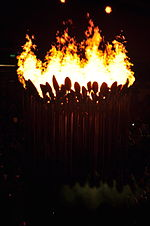 Olympics Photos - 2012 Summer Paralympics - The Paralympic cauldron.