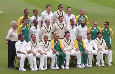 Sports Photos - South Africa Cricket Team - The South African team at The Oval in August 2008.
