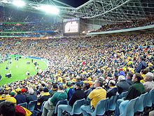 Sports Photos - Australia National Rugby Union Team - The opening match of the 2003 World Cup at Telstra Stadium.