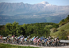 Sports Photos - Giro D'Italia - The peloton in stage 7 of the 2012 Giro d'Italia.