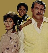 Football Photos - Alex Karras - After his playing career Karras forged a career in acting. One of his most memorable turns was as George Papadopolis in the 1980s television series <i>Webster</i>. He is pictured here with Susan Clark