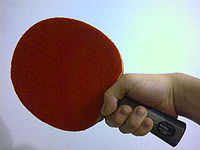 Sports Photos - Table Tennis - Shakehand grip (forehand)