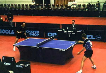 Sports Photos - Table Tennis - Competitive table tennis