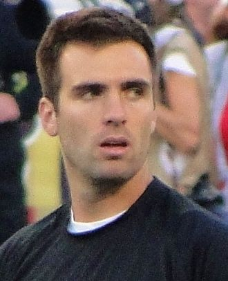 Football Photos - Joe Flacco - Flacco prior to a 2012 game against the New England Patriots.