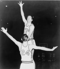 Basketball Photos - Bill Bradley - Playing at Princeton