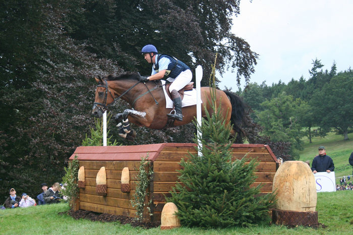 Horse Racing Photos - Cross-Country Equestrianism - A cross country competitor