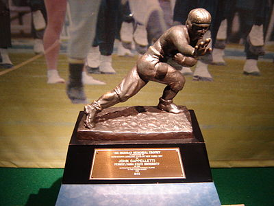 College Football Photos - Heisman Trophy - John Cappelletti's 1973 Heisman Trophy