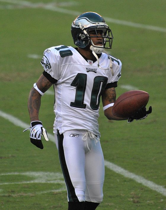 Football Photos - Desean Jackson - Jackson with the Eagles in August 2009.