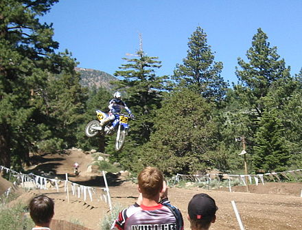 Motorsports Photos - Jeremy McGrath - Jeremy McGrath at the Mammoth Motocross 2002