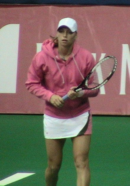Tennis Photos - Vera Zvonareva - Zvonareva at 2006 Kremlin Cup.