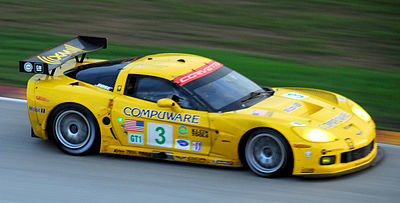 Motorsports Photos - Corvette Racing - A Chevrolet Corvette C6.R.