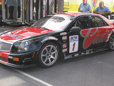 Motorsports Photos - Corvette Racing - A Cadillac CTS-V.