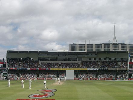 Sports Photos - Dennis Lillee - The Lillee-Marsh stand at the WACA Ground