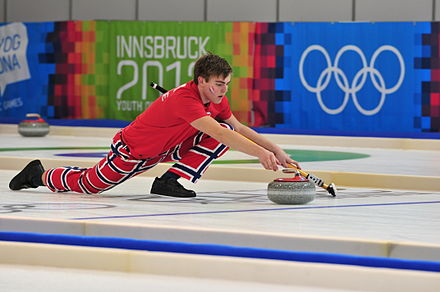 Olympics Photos - Curling - Curling at Youth Olympic Games 2012