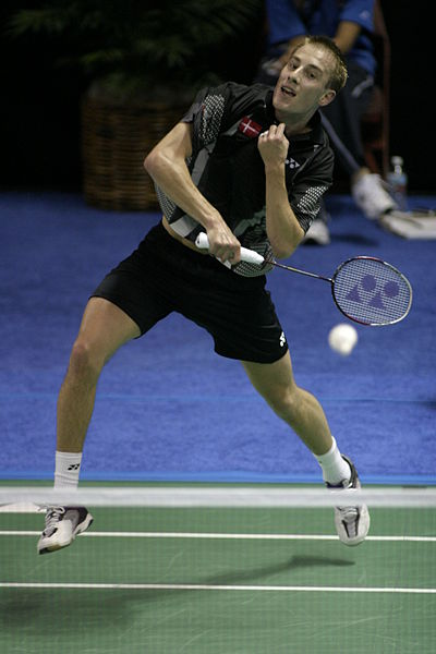 Sports Photos - Badminton - Badminton Peter Gade