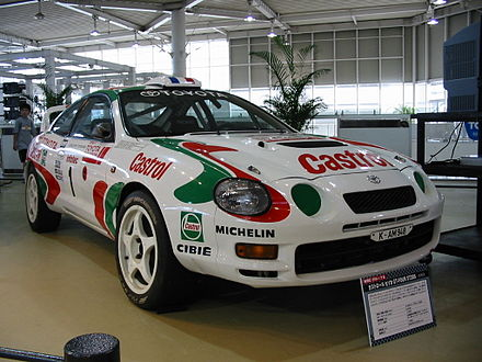 Motorsports Photos - World Rally Championship - Group A Toyota Celica GT-Four ST205.