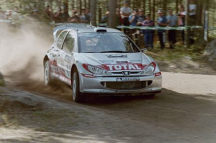 Motorsports Photos - World Rally Championship - Marcus Grönholm at the 2001 Rally Finland.