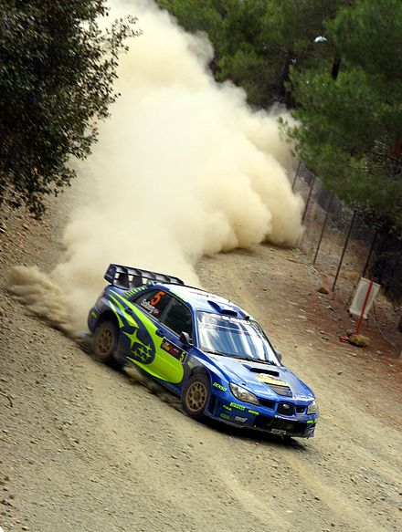Motorsports Photos - World Rally Championship - Petter Solberg at the 2006 Cyprus Rally.