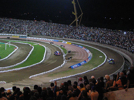 Motorsports Photos - World Rally Championship - A stadium-based super special stage in Argentina.