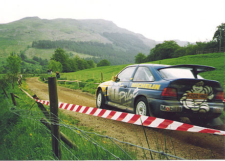 Motorsports Photos - World Rally Championship - Group A Ford Escort RS Cosworth.