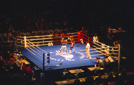 Olympics Photos - 1996 Summer Olympics - Boxing event at the 1996 games