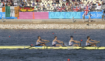 Olympics Photos - 2004 Summer Olympics - USA Men's Lightweight Four in Athen's Olympics