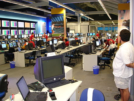 Olympics Photos - 2004 Summer Olympics - View of the ATHOC Technology Operations Center during the Games.