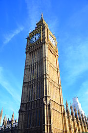 Olympics Photos - 1908 Summer Olympics - Big Ben Clear Skies