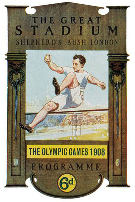 Olympics Photos - 1908 Summer Olympics - Olympic games 1908 London