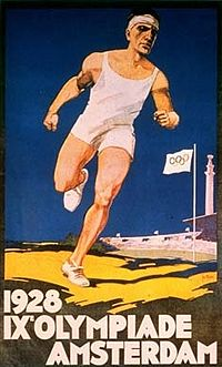 Olympics Photos - 1928 Summer Olympics - The official poster.
