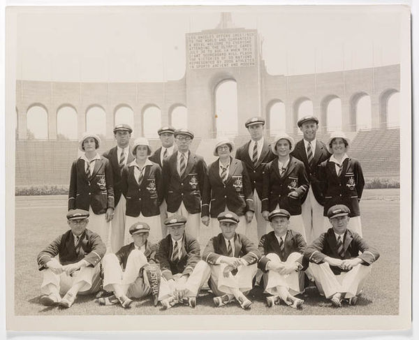 Olympics Photos - 1932 Summer Olympics - photographer unknown