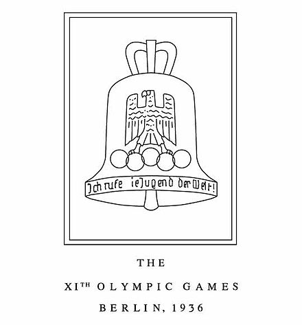Olympics Photos - 1936 Summer Olympics - 1936 berlin logo