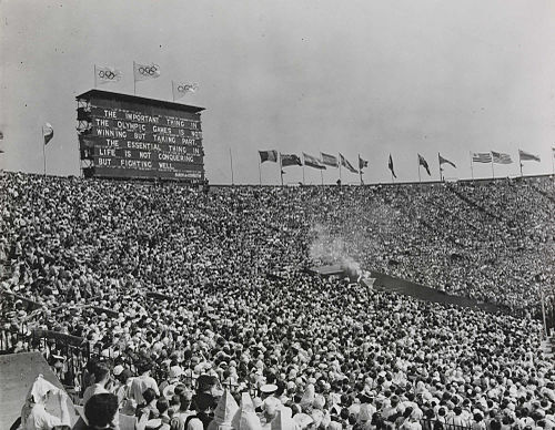 Olympics Photos - 1948 Summer Olympics - The XIV Olympic Games opens in London%2C 1948