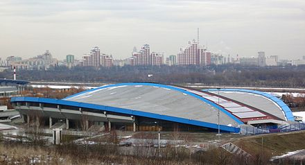 Olympics Photos - 1980 Summer Olympics - Olympic Velodrome in Krylatskoye