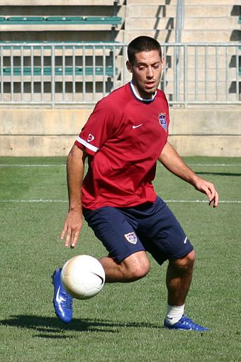 Soccer Photos - Clint Dempsey - Dempsey training with the United States in April 2006
