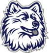 College Basketball Photos - Connecticut Huskies emblem - The Connecticut Huskies, also known as the UConn Huskies, are the athletic teams of the University of Connecticut. The school is a member of National Collegiate Athletic Association Division I and the Big East Conference for all sports except Men's Ice Hockey (Atlantic Hockey) and Women's Ice Hockey (Hockey East).
