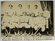 Baseball Photos - Cincinnati Red Stockings - Cincinnati Red Stockings in 1869.