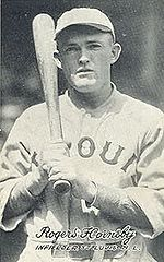 Baseball Photos - St. Louis Cardinals - Rogers Hornsby won two Triple Crowns with the Cardinals.