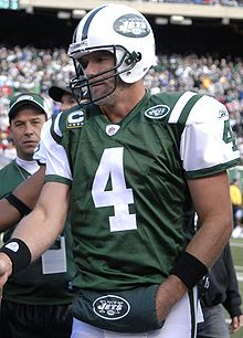 Football Photos - Brett Farve - Favre during his time playing for the Jets