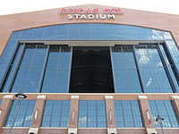 Football Photos - Indianapolis Colts - Lucas Oil Stadium exterior