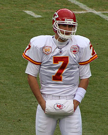Football Photos - Kansas City Chiefs - Matt Cassel wearing the Chiefs' all-white road uniform.