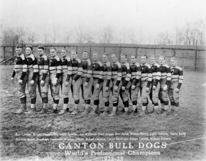 Football Photos - Canton Bulldogs - The 1922-23 Canton Bulldogs